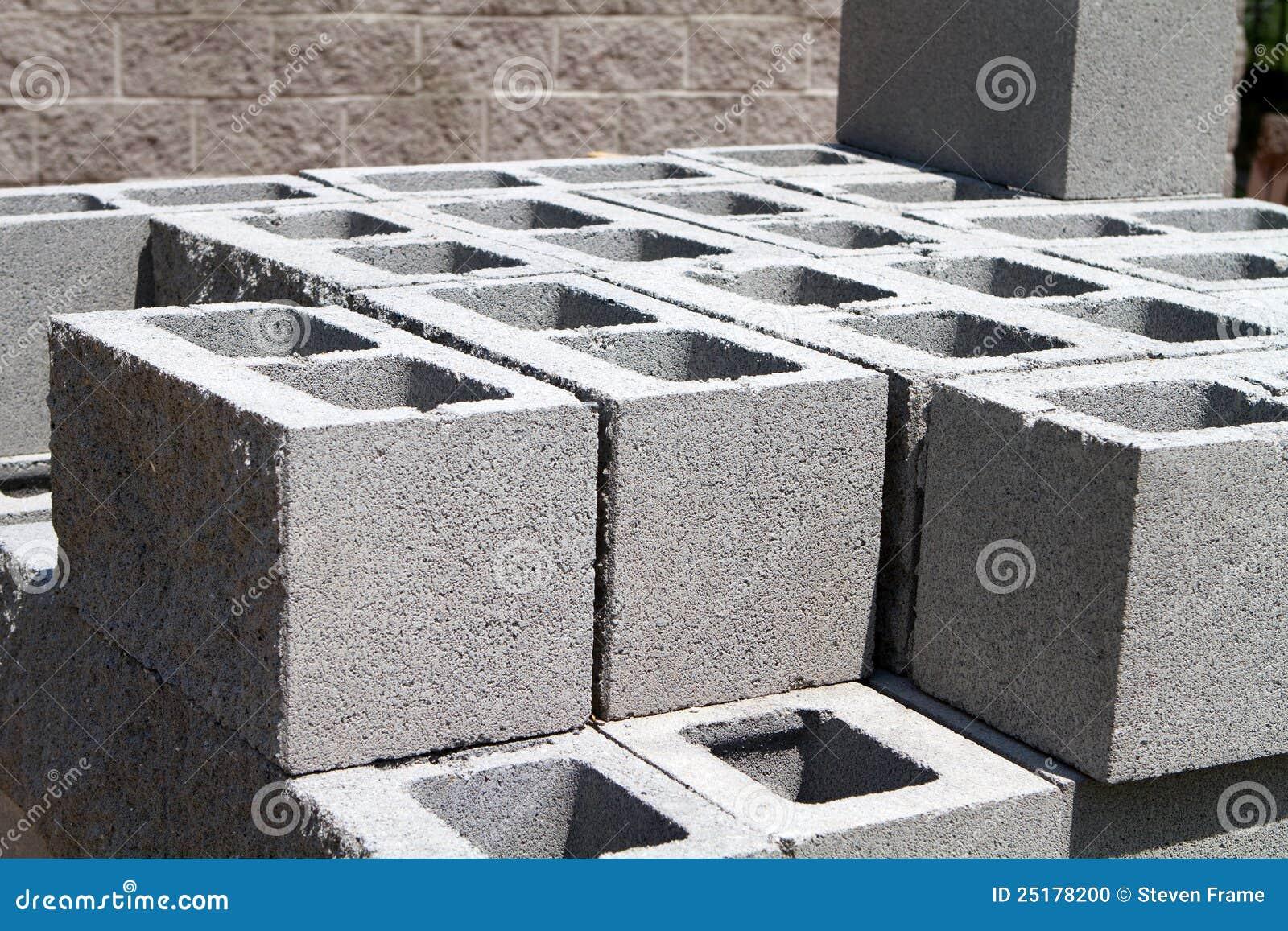 Architectural Concrete Blocks Stock Photo Image 25178200