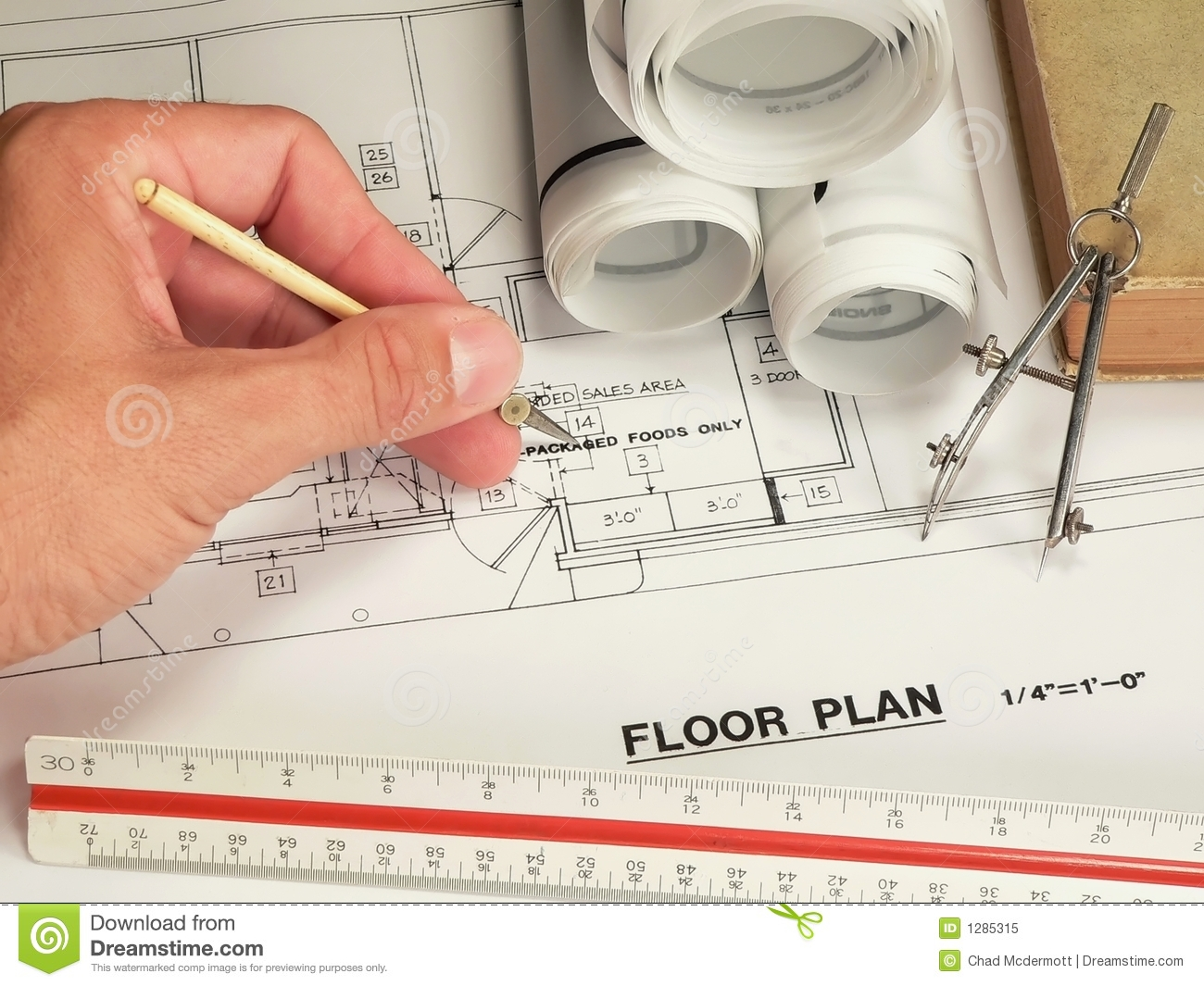 Architectural design tools royalty free stock photo for Architecture design tools free