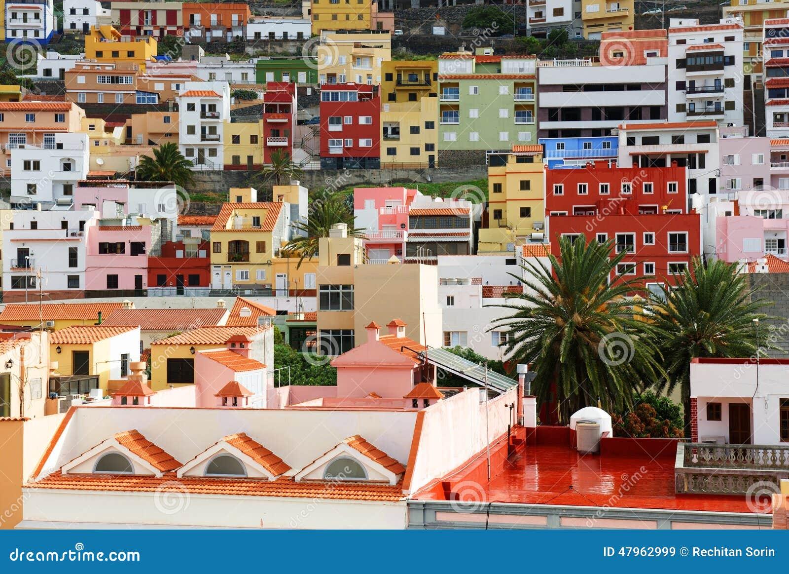 Architectural detail in San Sebastian de la Gomera