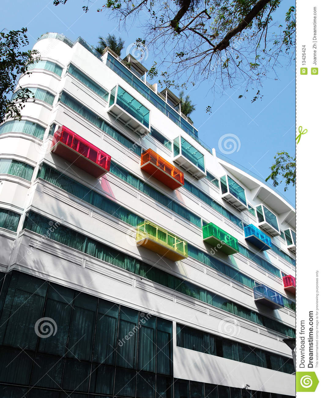 rchitectural Details, Modern Hotel Stock Images - Image: 13426424 - ^