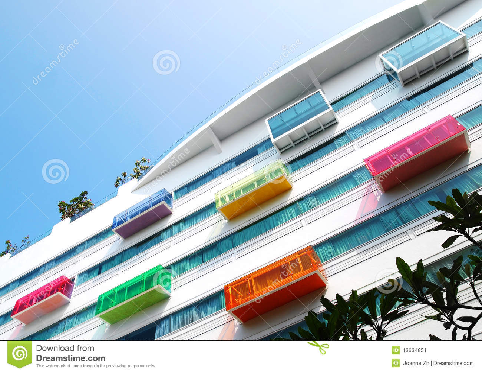 rchitectural Details, Modern Hotel Stock Image - Image: 13634851 - ^