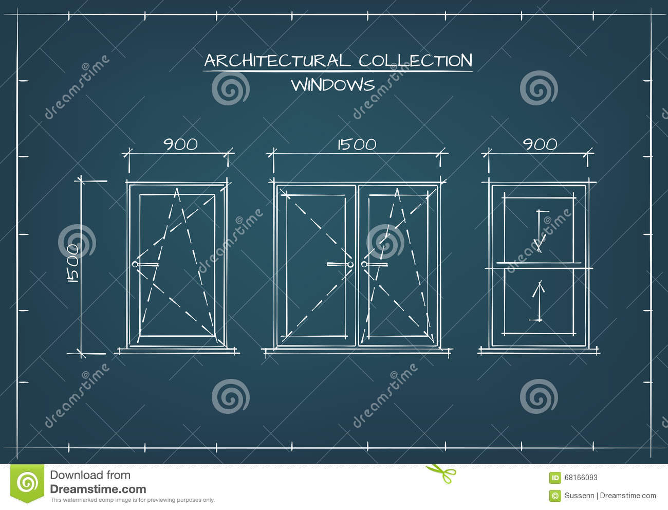 Plain Architectural Drawing Blueprint O Inside Decorating