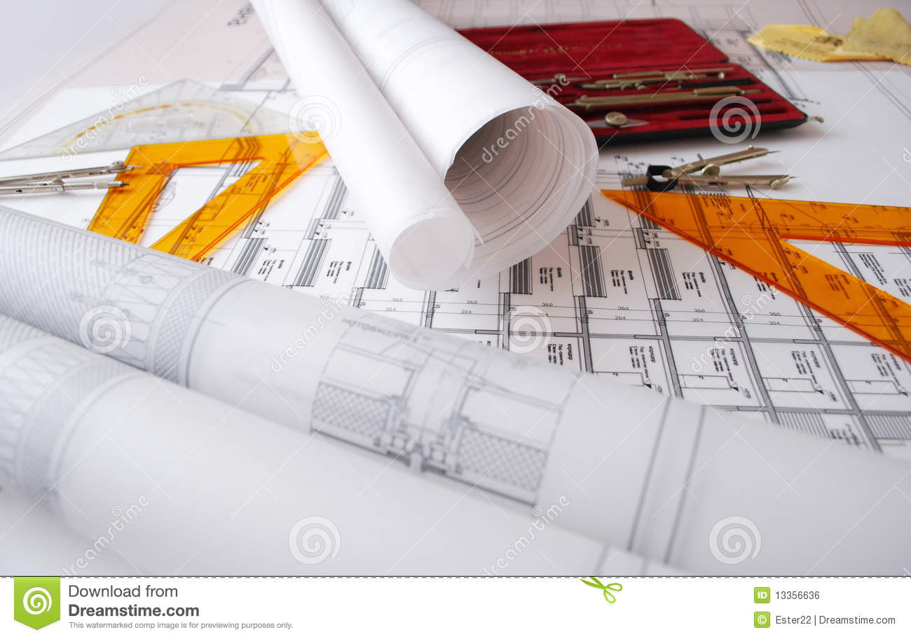 Https Www Dreamstime Com Royalty Free Stock Image Architectural Drawings Image13356636