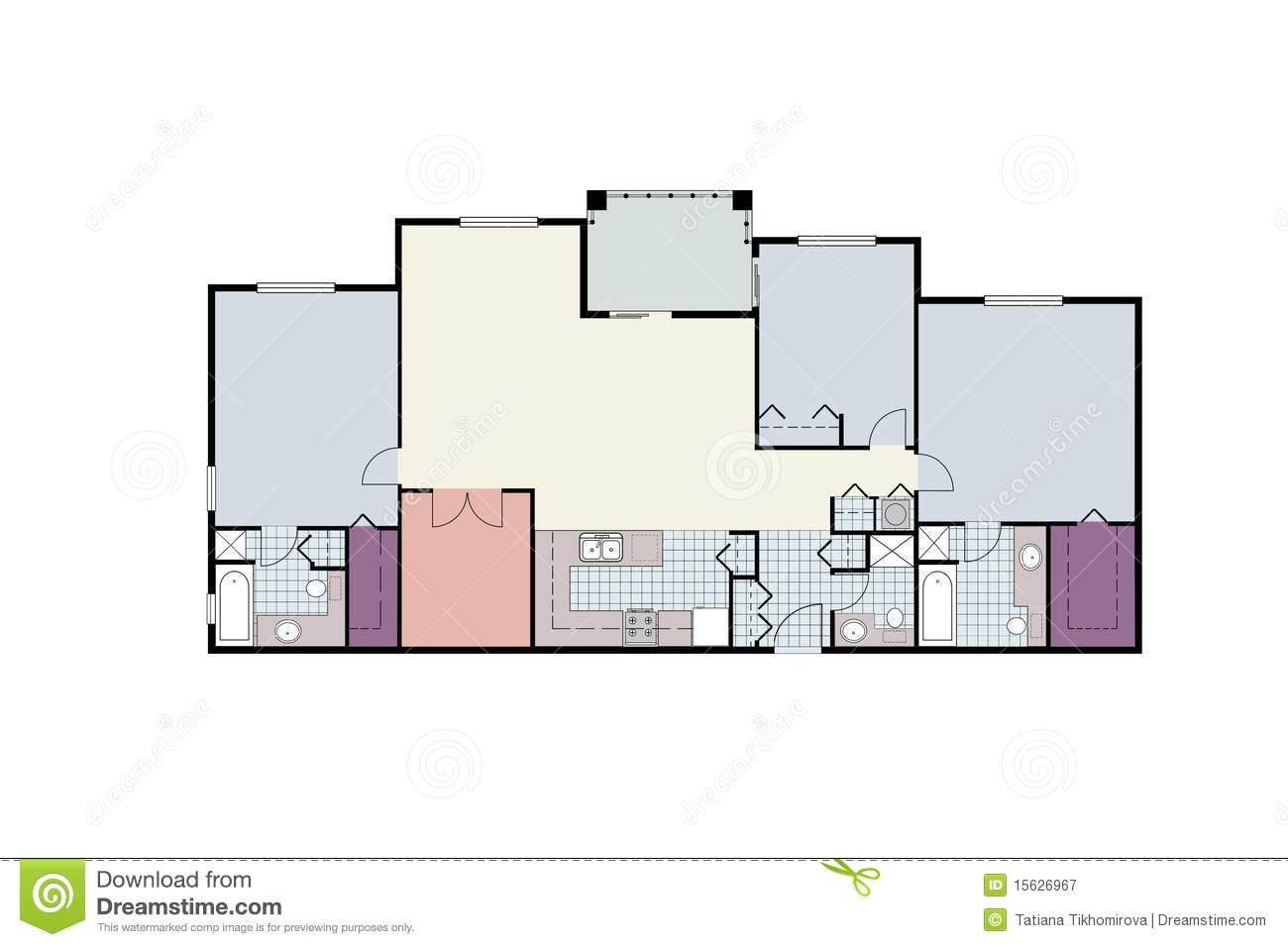 House plans and design architectural designs for condominiums for 3 bedroom architectural designs