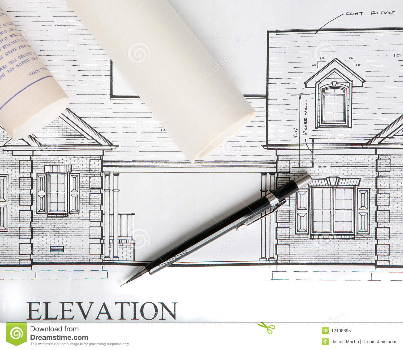 Http Dreamstime Com Royalty Free Stock Photo Architectural House Drawings Image12108895