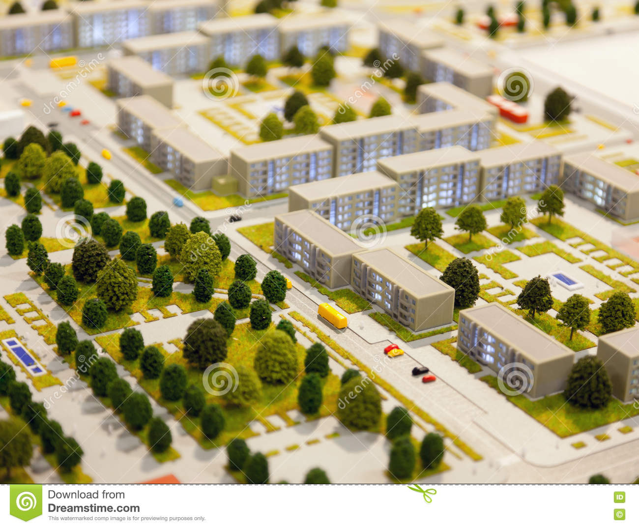Stock Images Architectural Model City District Tilt Shift Effect Image34416794 on sustainable landscape graphics