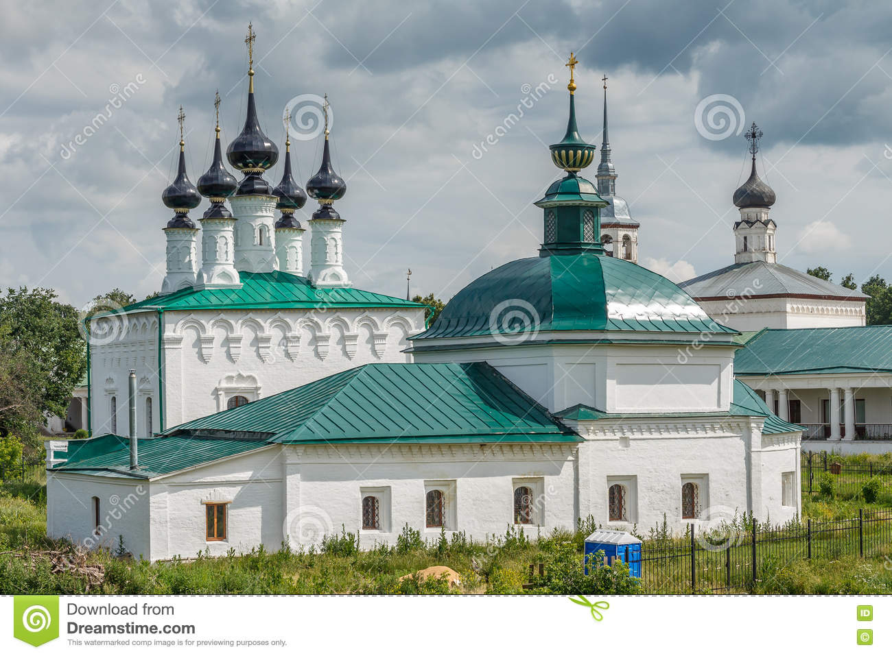 Architectural monuments of Suzdal