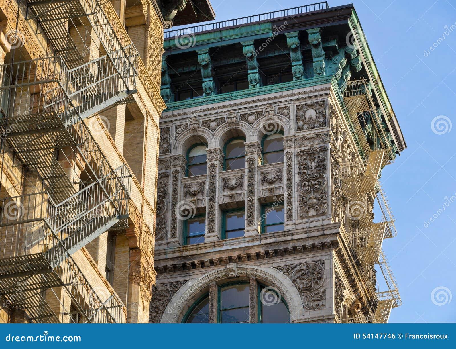 Architectural Ornament And Copper Cornice, Building Facade