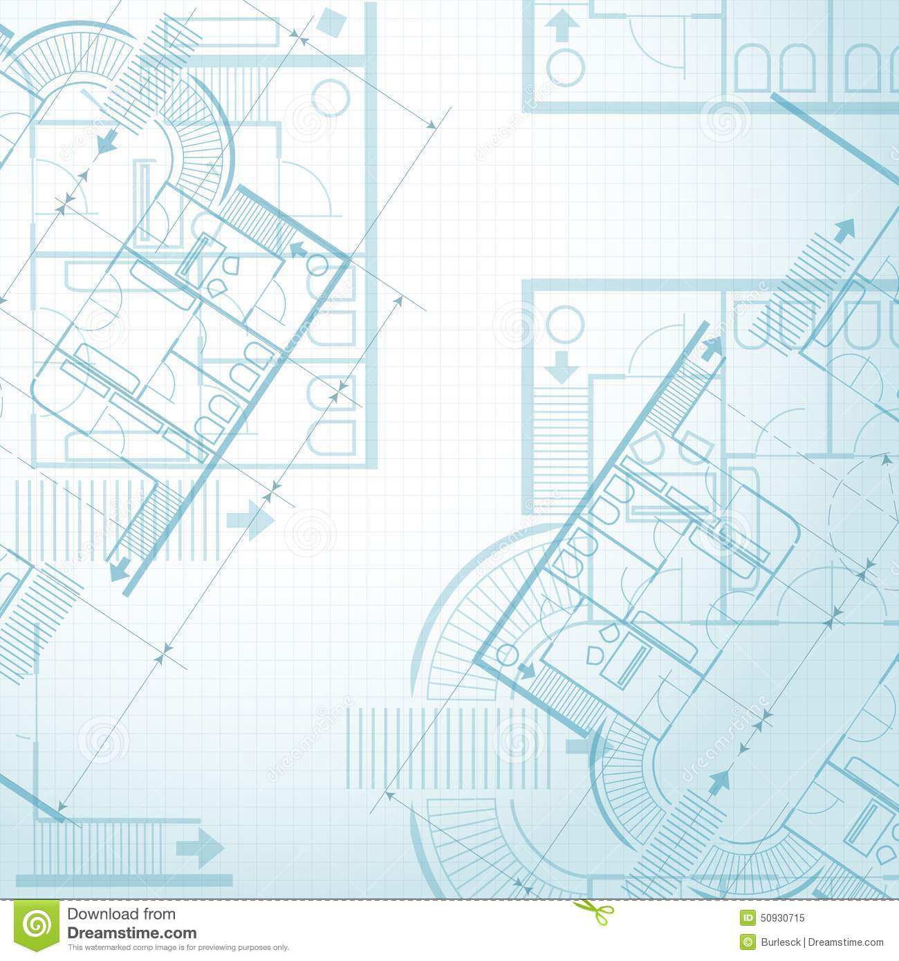 Architectural plan background stock vector illustration of architectural plan background malvernweather Images