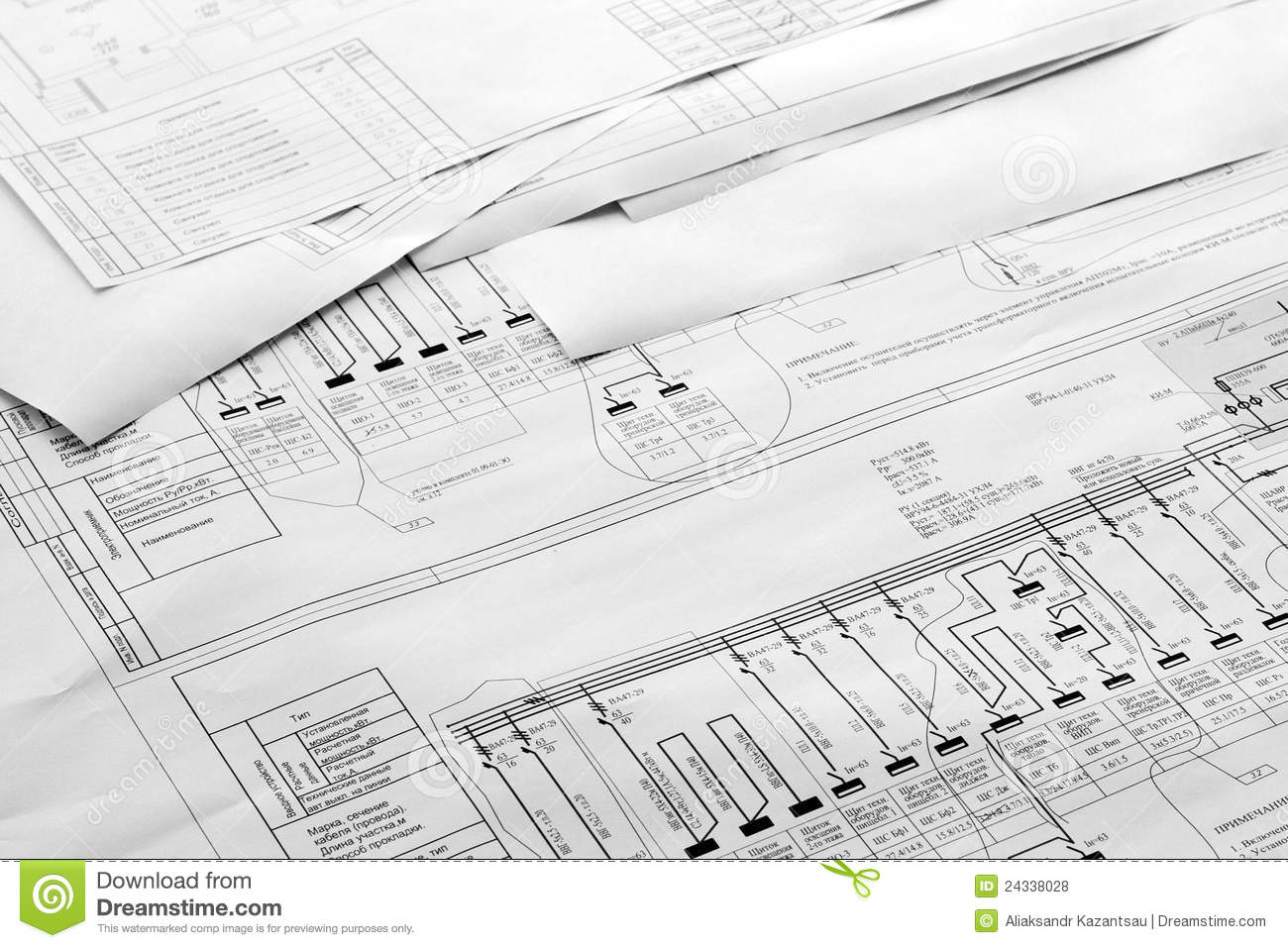 Architectural plan royalty free stock photography for Free architectural drawing program