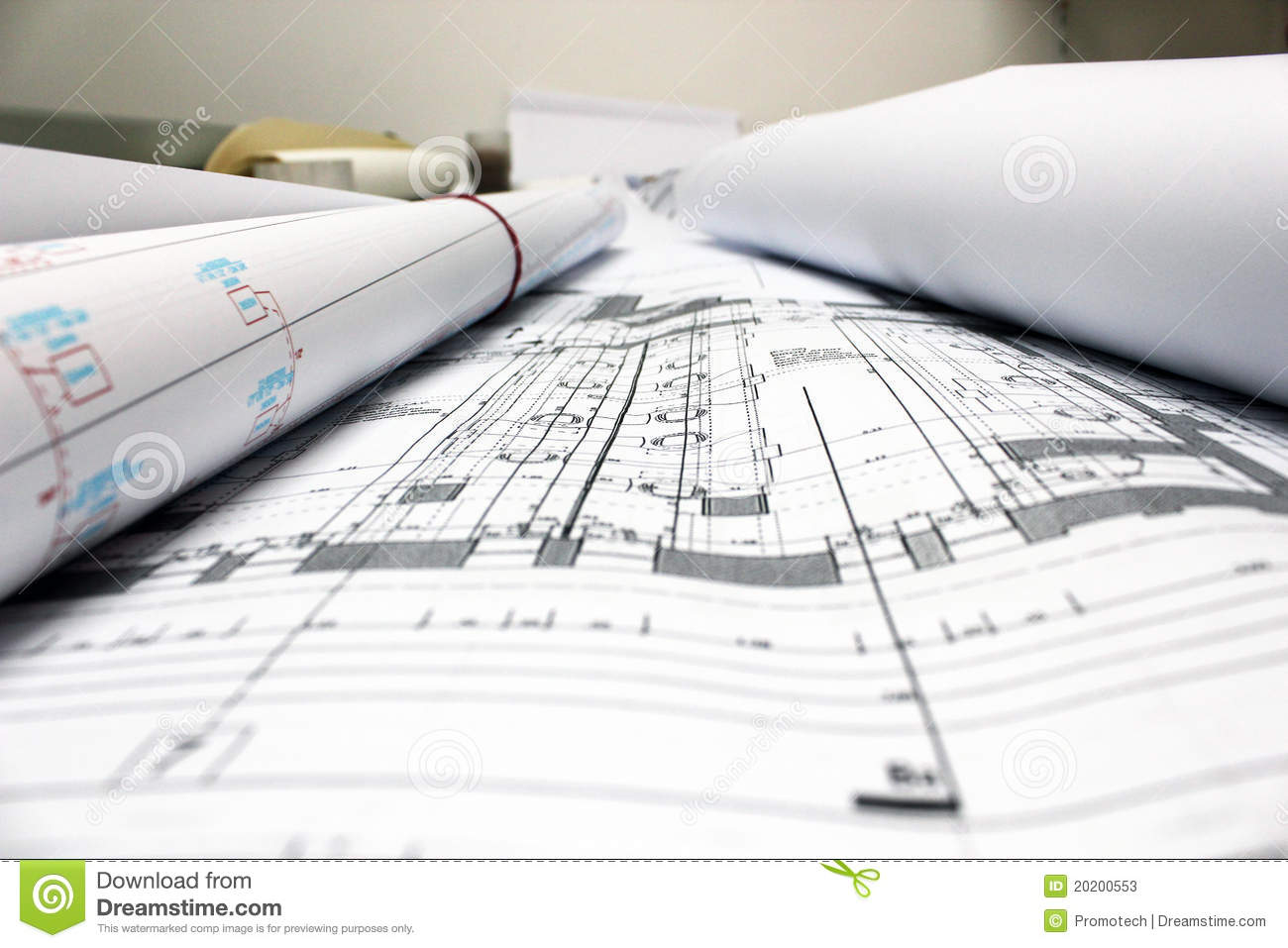 Architectural Drawings Royalty Free Stock Photos Image 34663968