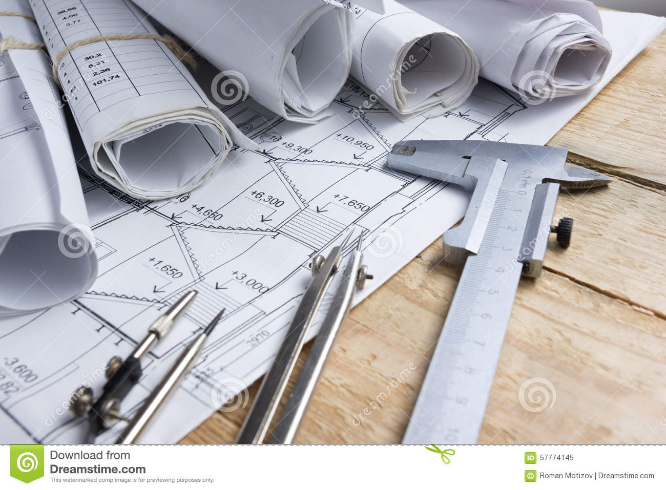 Architectural project blueprints blueprint rolls and for Architecture blueprints