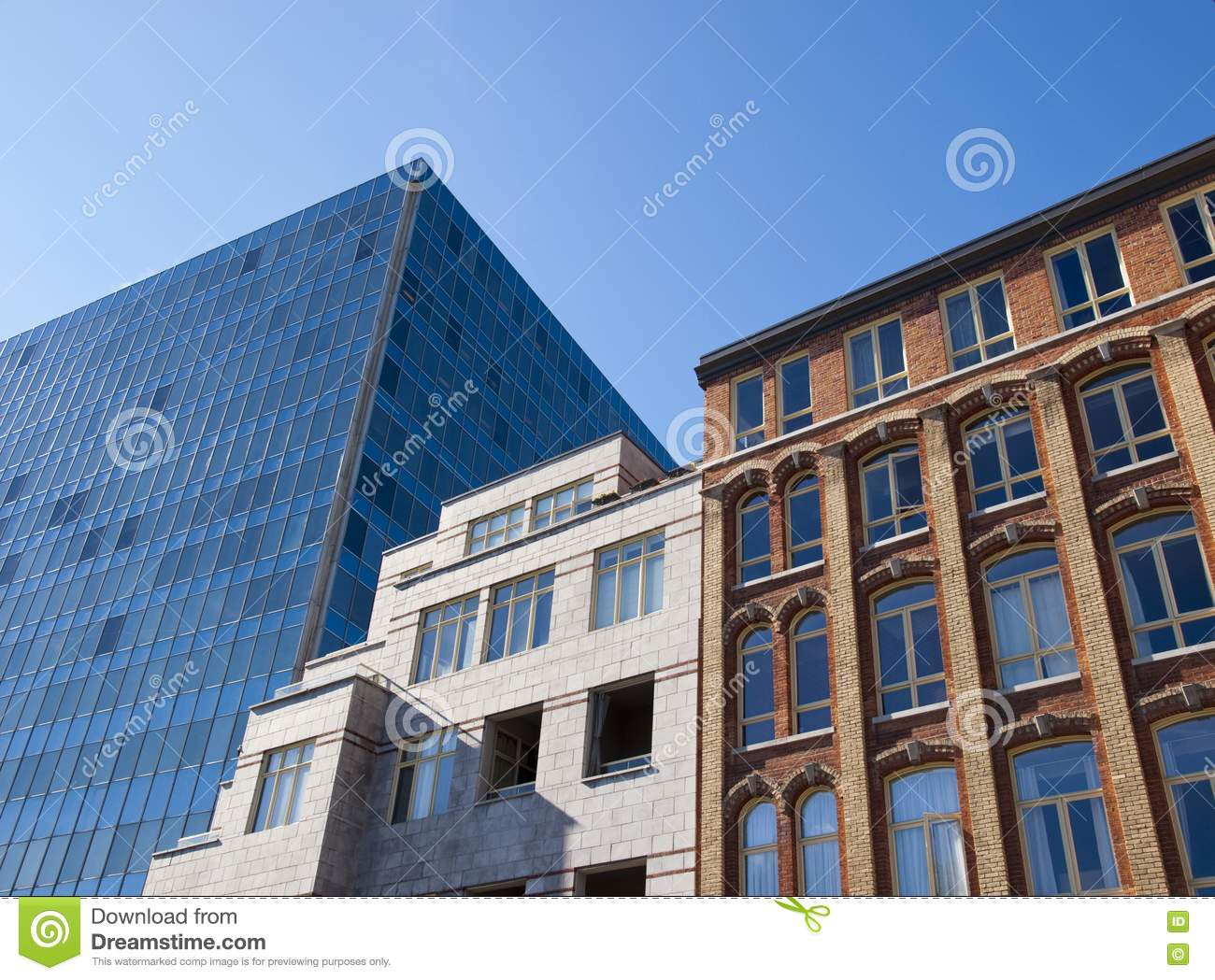 Architectural styles stock image image 16475871 for Different building styles