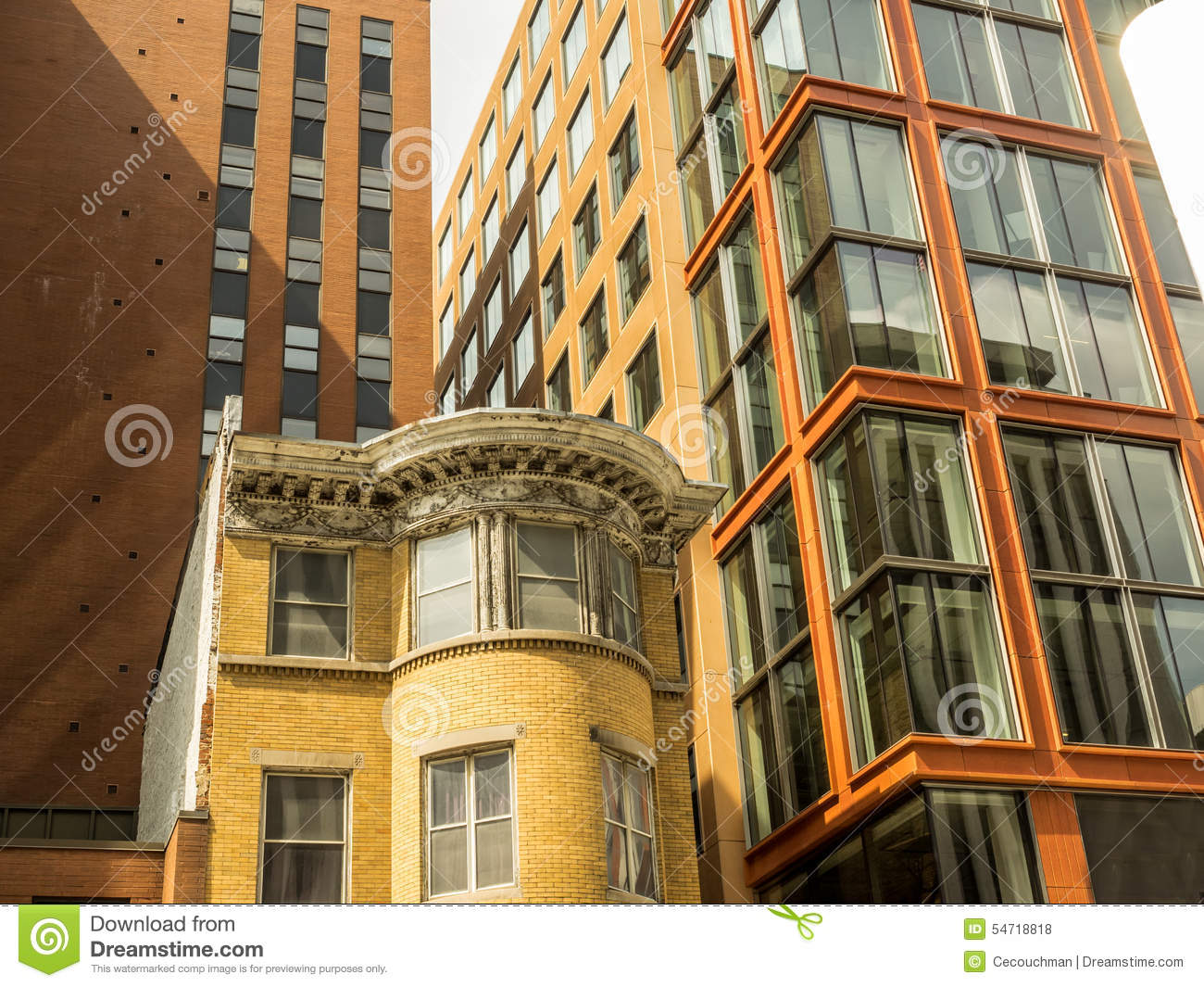 Architectural styles in the city stock photo image 54718818 for Basic architectural styles