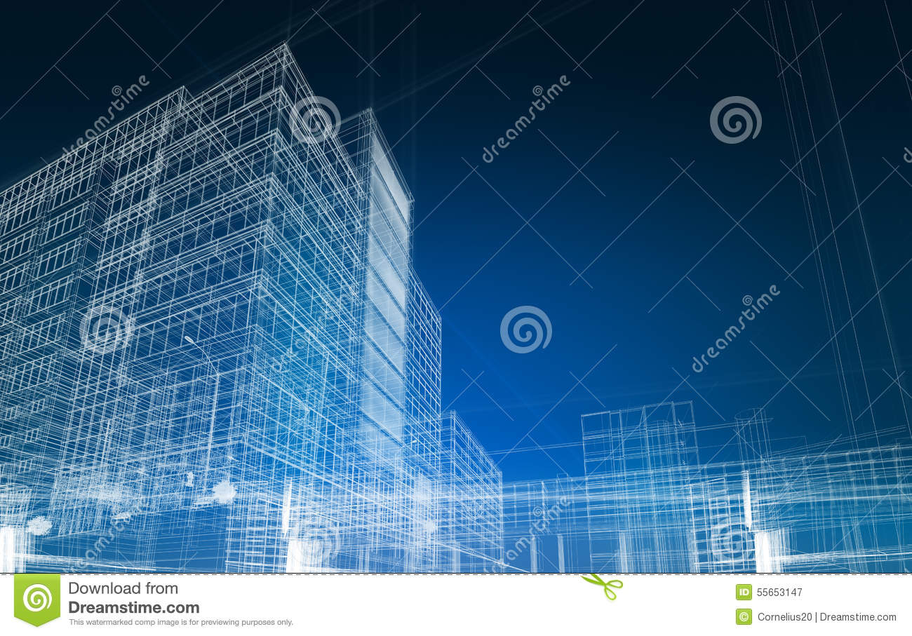 Architecture abstract blueprint stock photo image 55653147 for Architecture blueprint