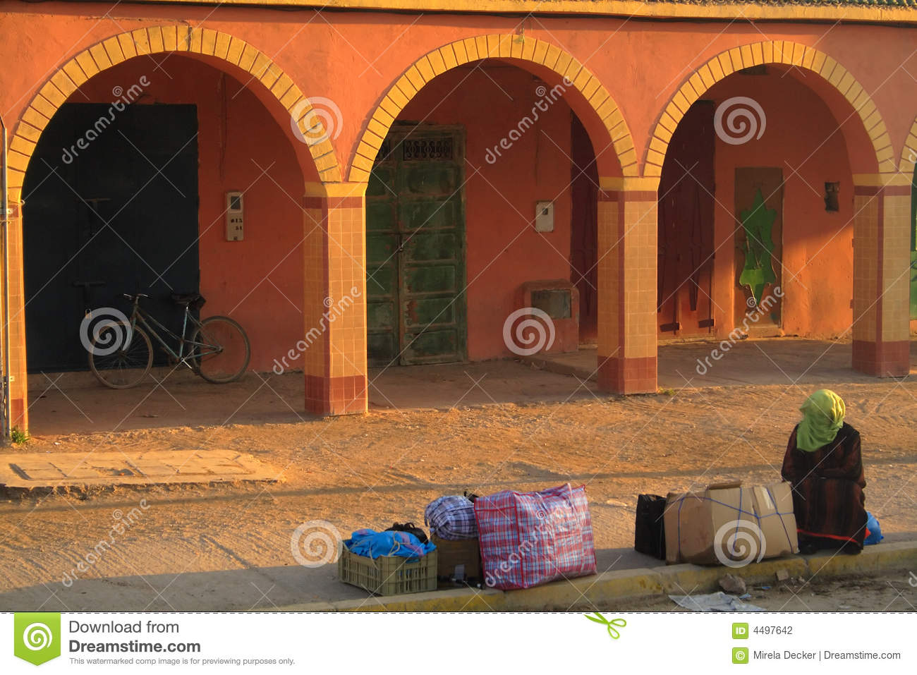 Architecture Africaine Photographie Stock Image 4497642