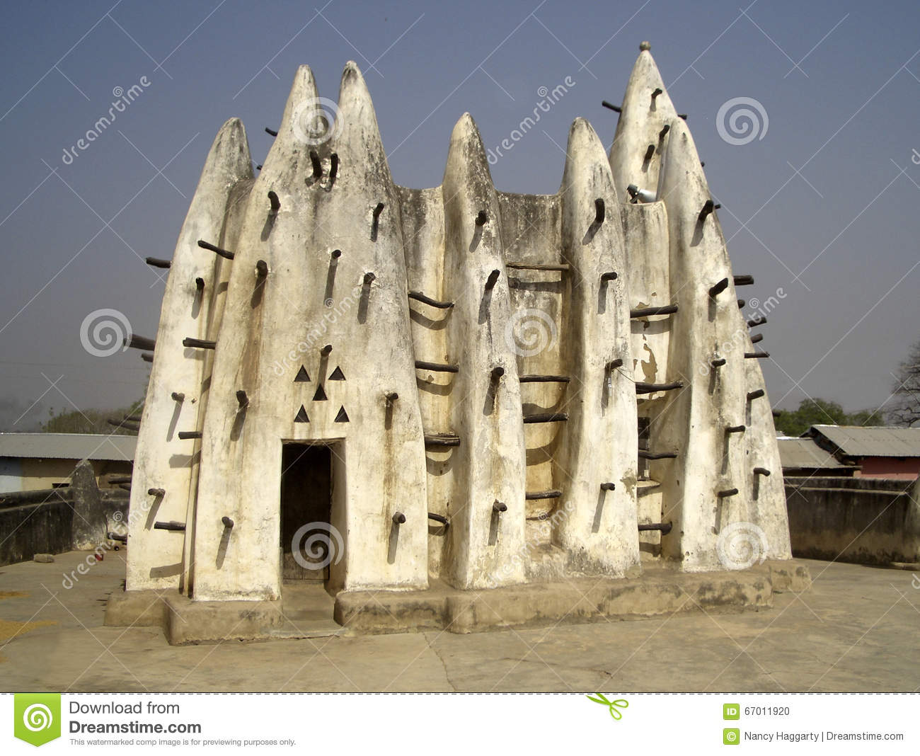 Architecture africaine traditionnelle de boue et b ton for Architecture africaine