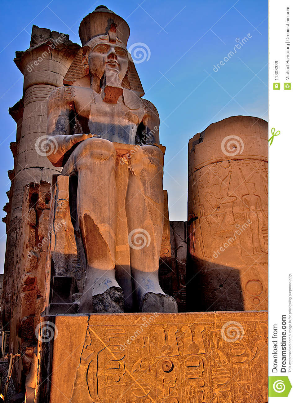Architecture antique en Egypte