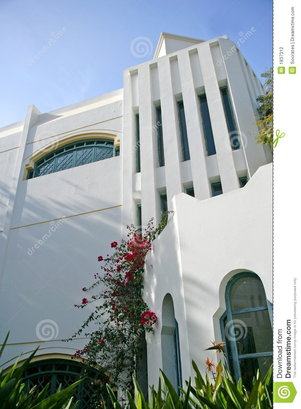 architecture arabe moderne photographie stock image 1837312