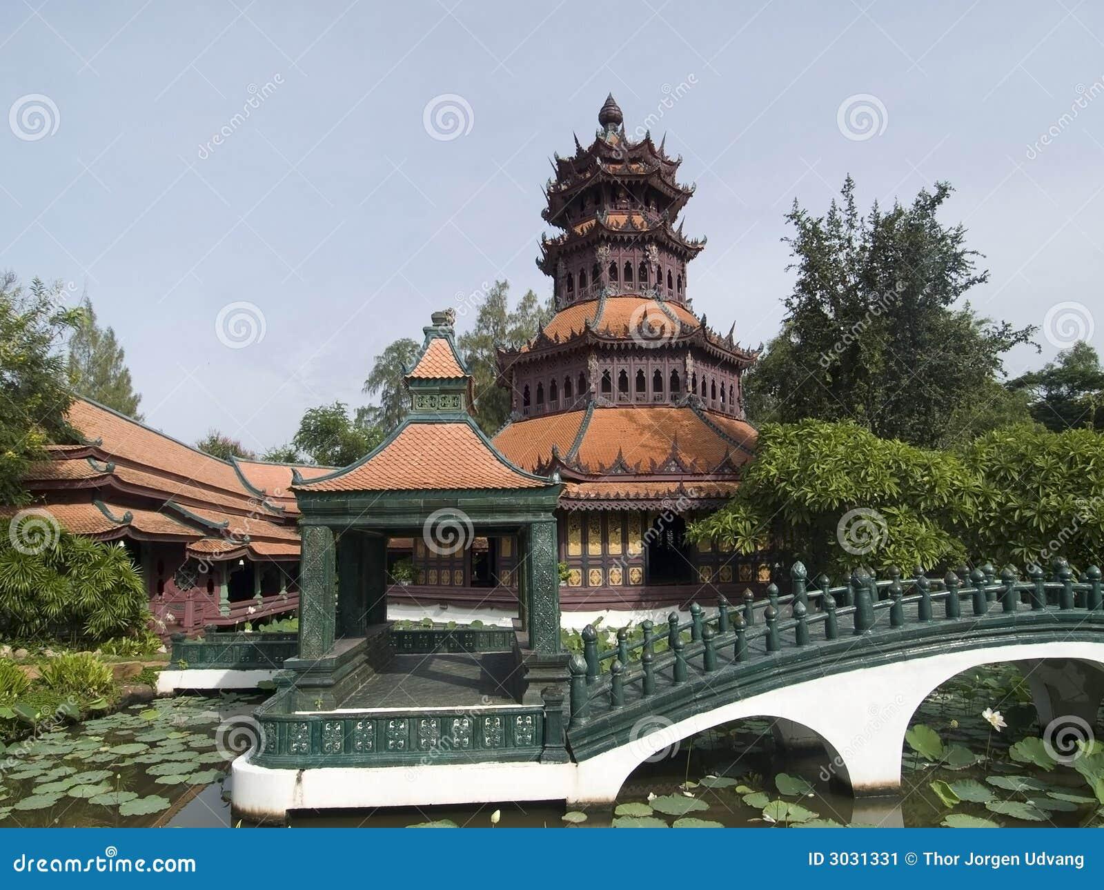 Architecture asiatique traditionnelle image stock image for Architecture traditionnelle