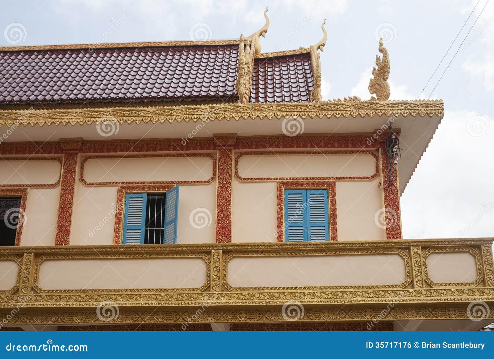 Architecture asiatique traditionnelle image libre de for Architecture traditionnelle