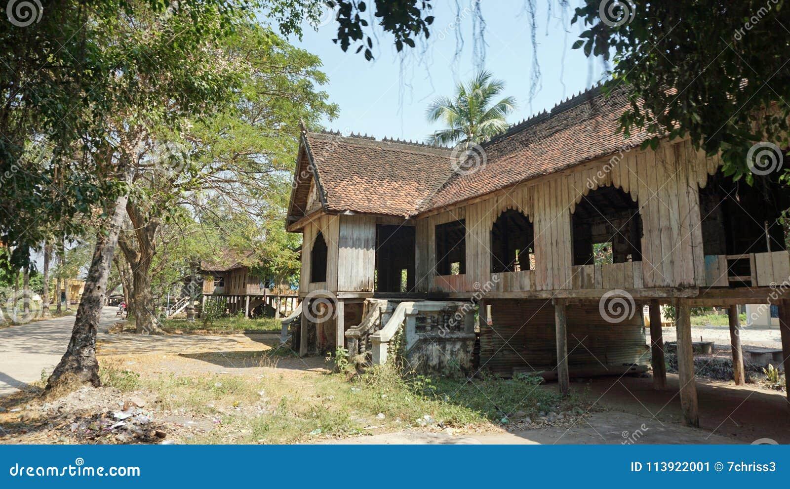 Architecture In Battambang Stock Image Image Of Building 113922001