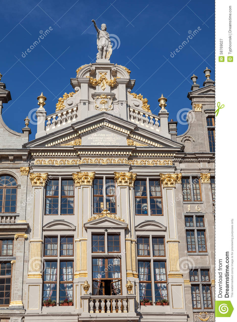 Architecture belge traditionnelle bruxelles photo stock image 58769027 - Architecture maison en belgique ...