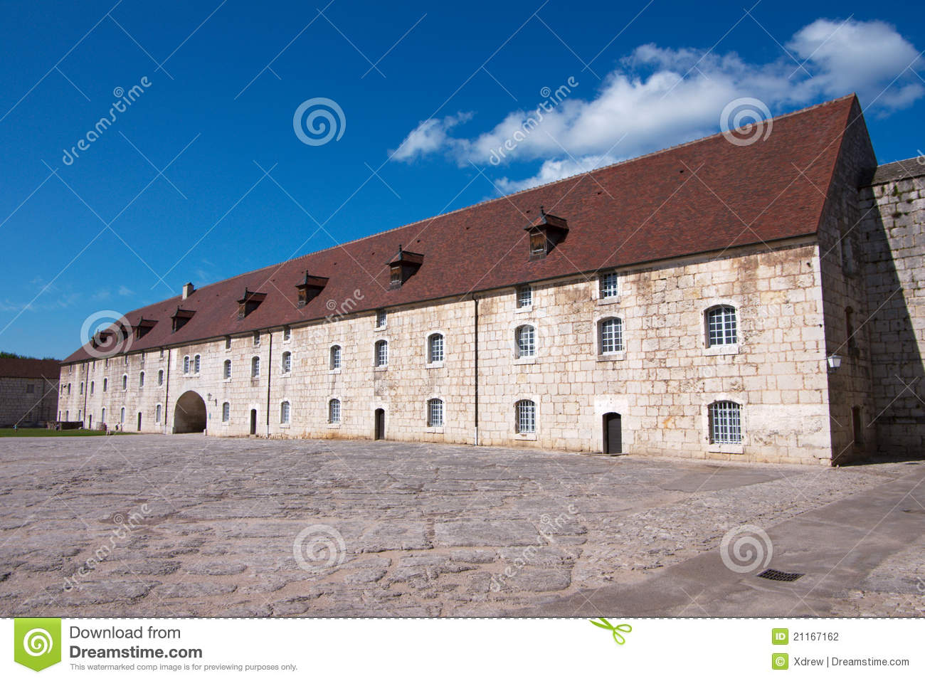 architecture of besancon citadel stock photography image 21167162. Black Bedroom Furniture Sets. Home Design Ideas