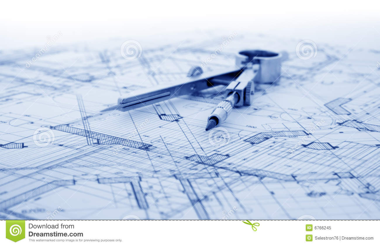Architecture blueprint stock image image of abstract 6766245 download architecture blueprint stock image image of abstract 6766245 malvernweather Gallery