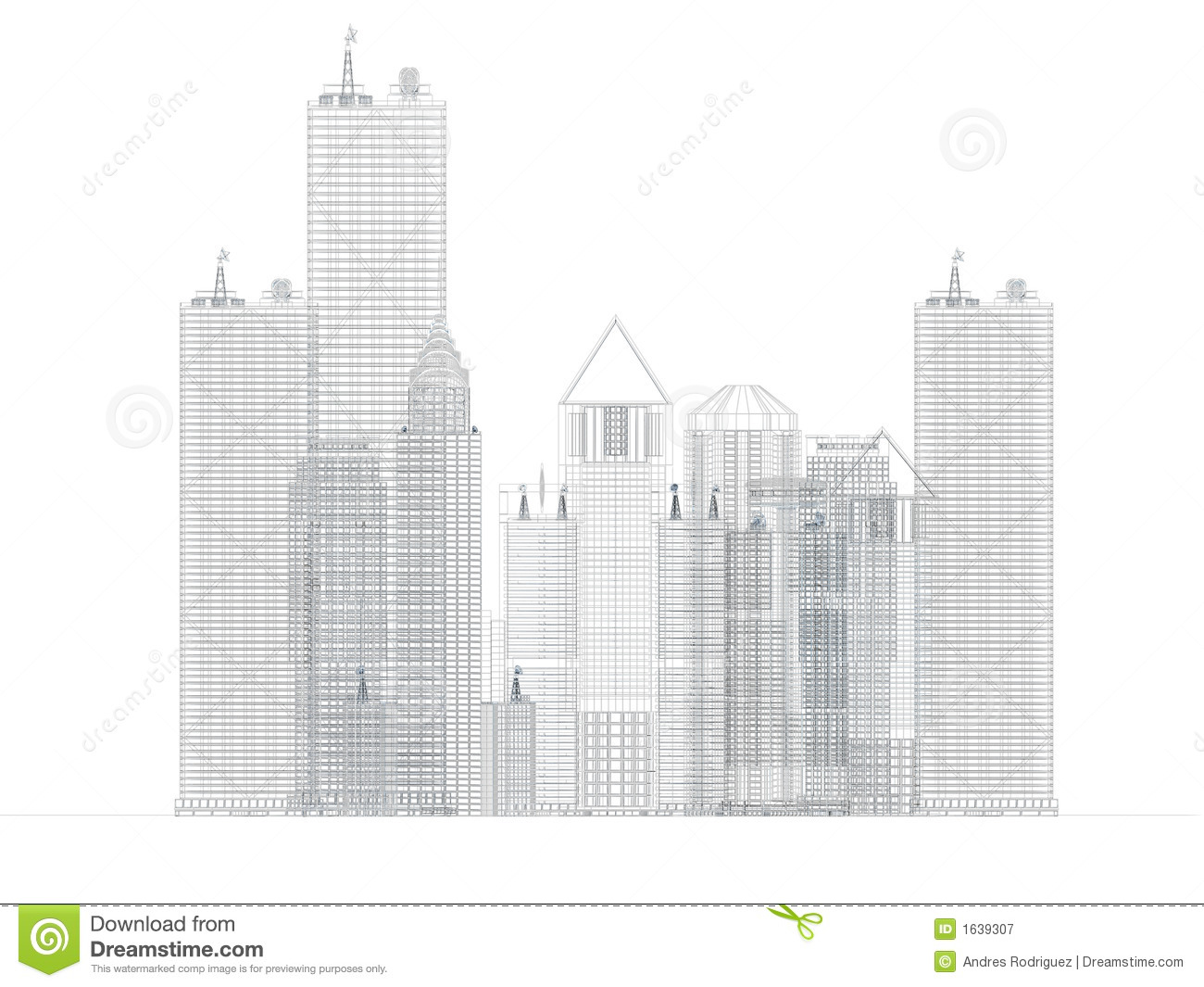Architecture blueprint of corporate buildings stock for Blueprint architects