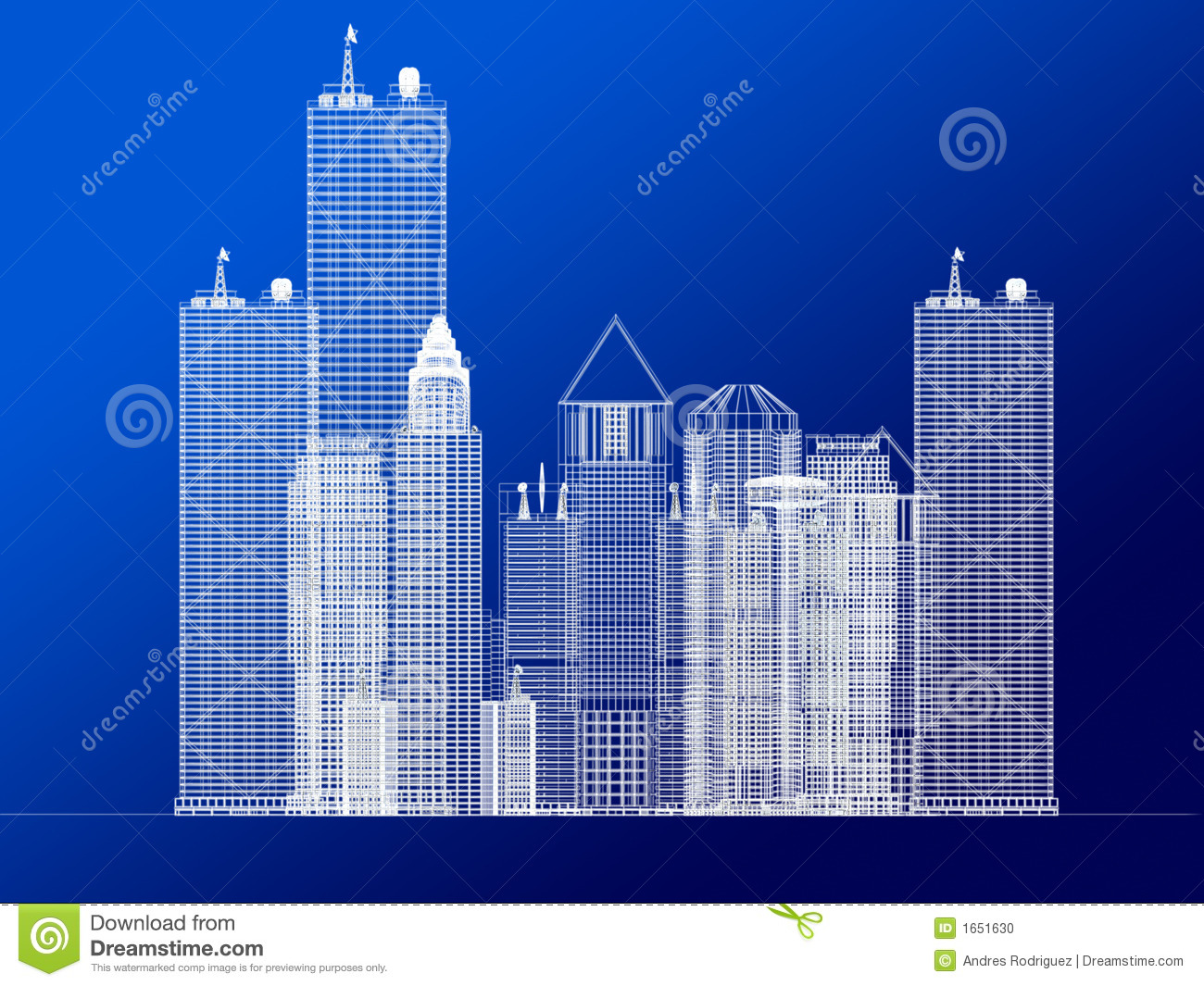 Architecture blueprint of corporate buildings stock for Architecture blueprints