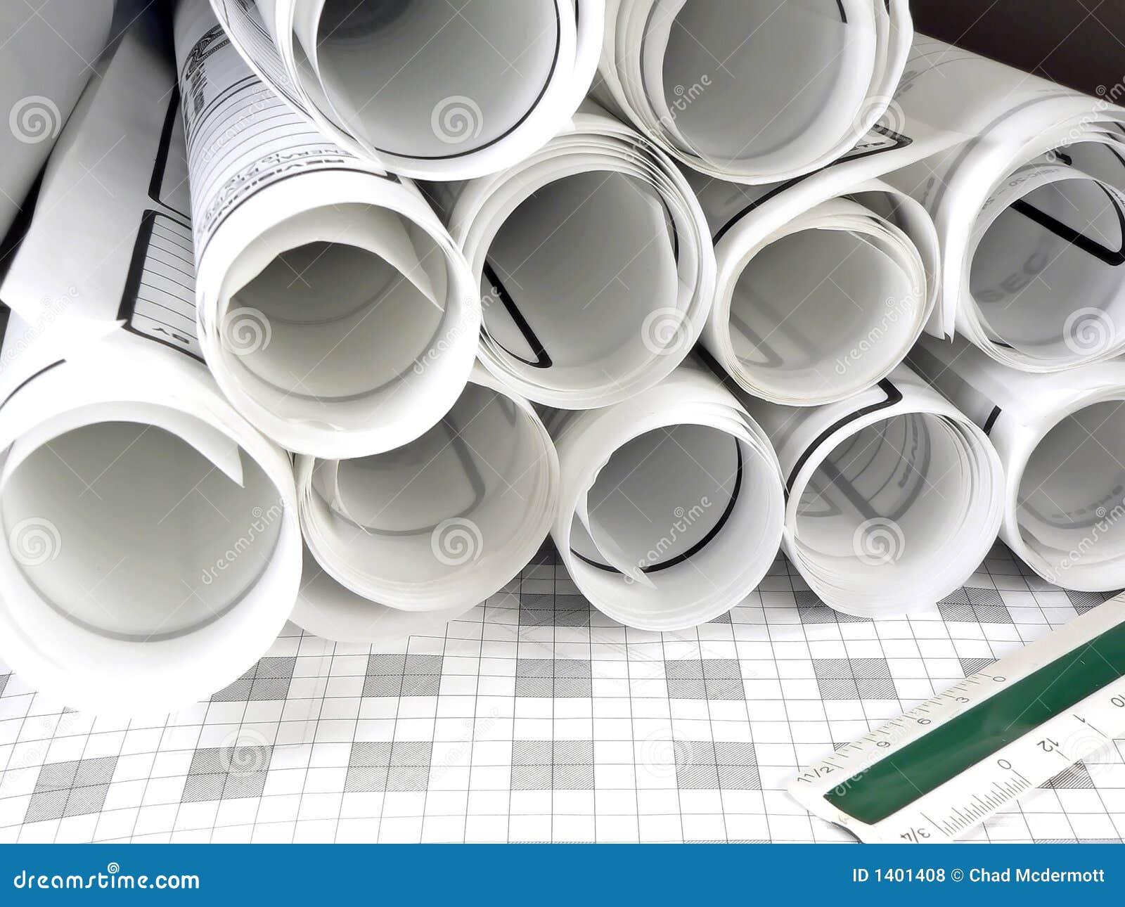 Architecture Blueprints architecture blueprints royalty free stock photos - image: 1401408