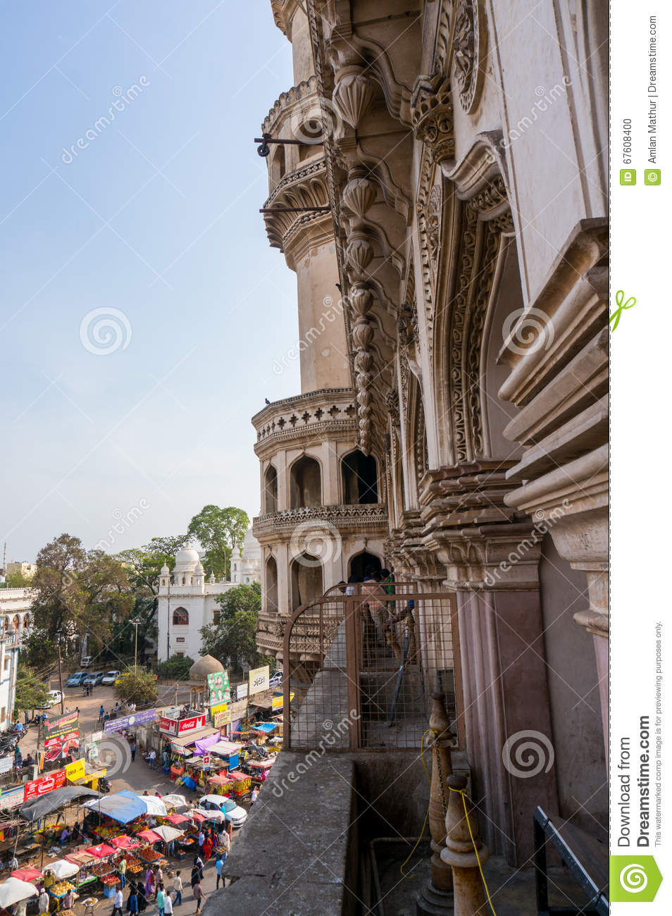 Architecture of charminar hyderabad editorial image for Architecture interior design hyderabad telangana