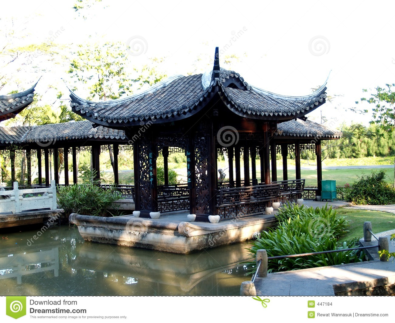 Architecture chinoise images stock image 447184 for Architecture chinoise