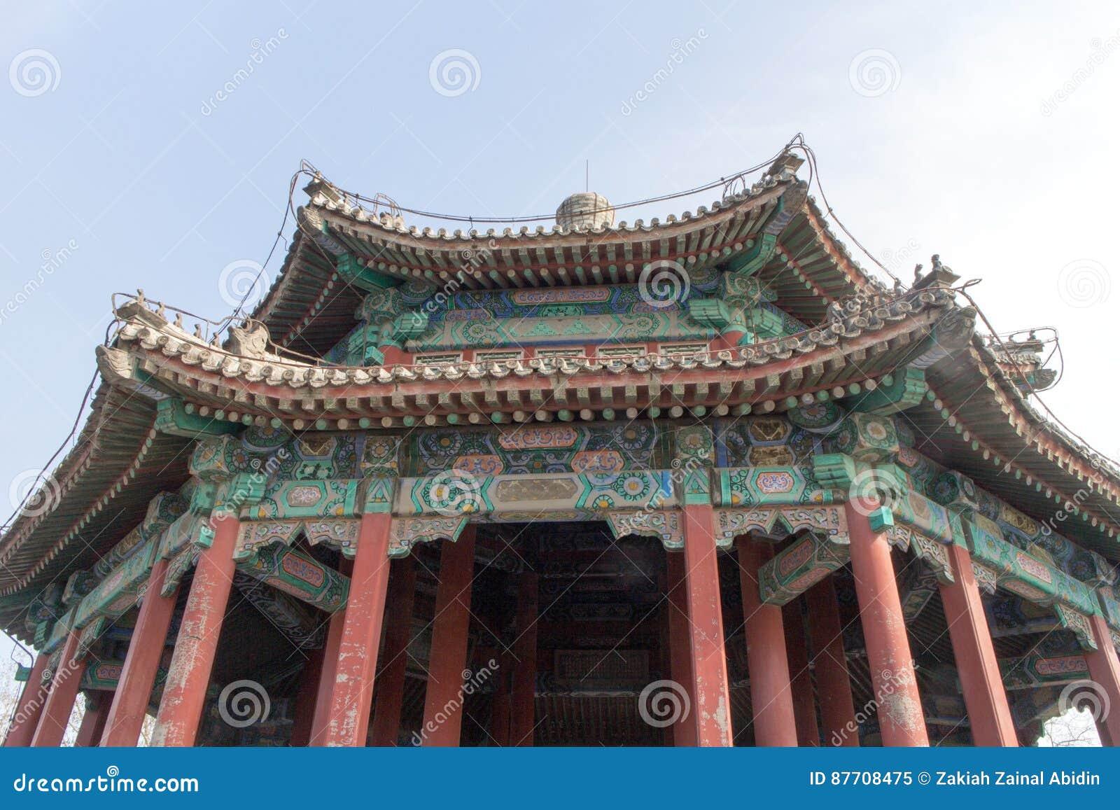 Architecture chinoise commune