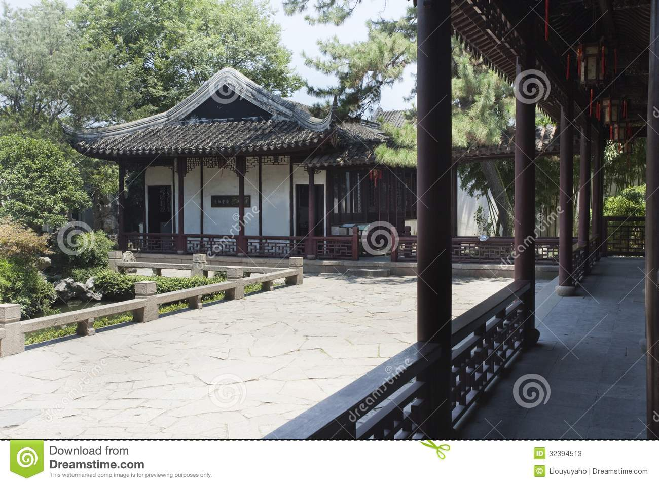 Architecture classique chinoise photos stock image 32394513 for Architecture chinoise