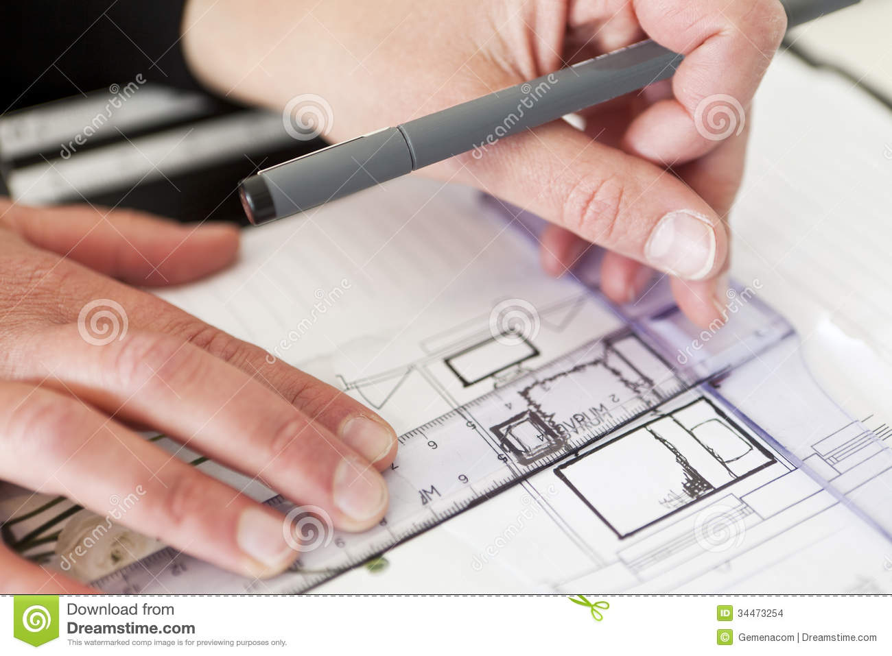 Architecture Close Up Stock Illustration Image Of