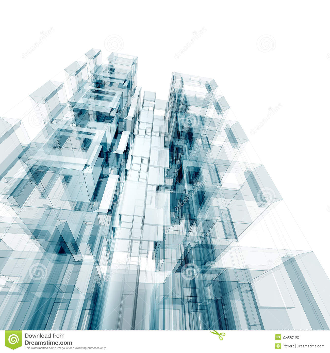 Architecture concept stock photography image 25802192