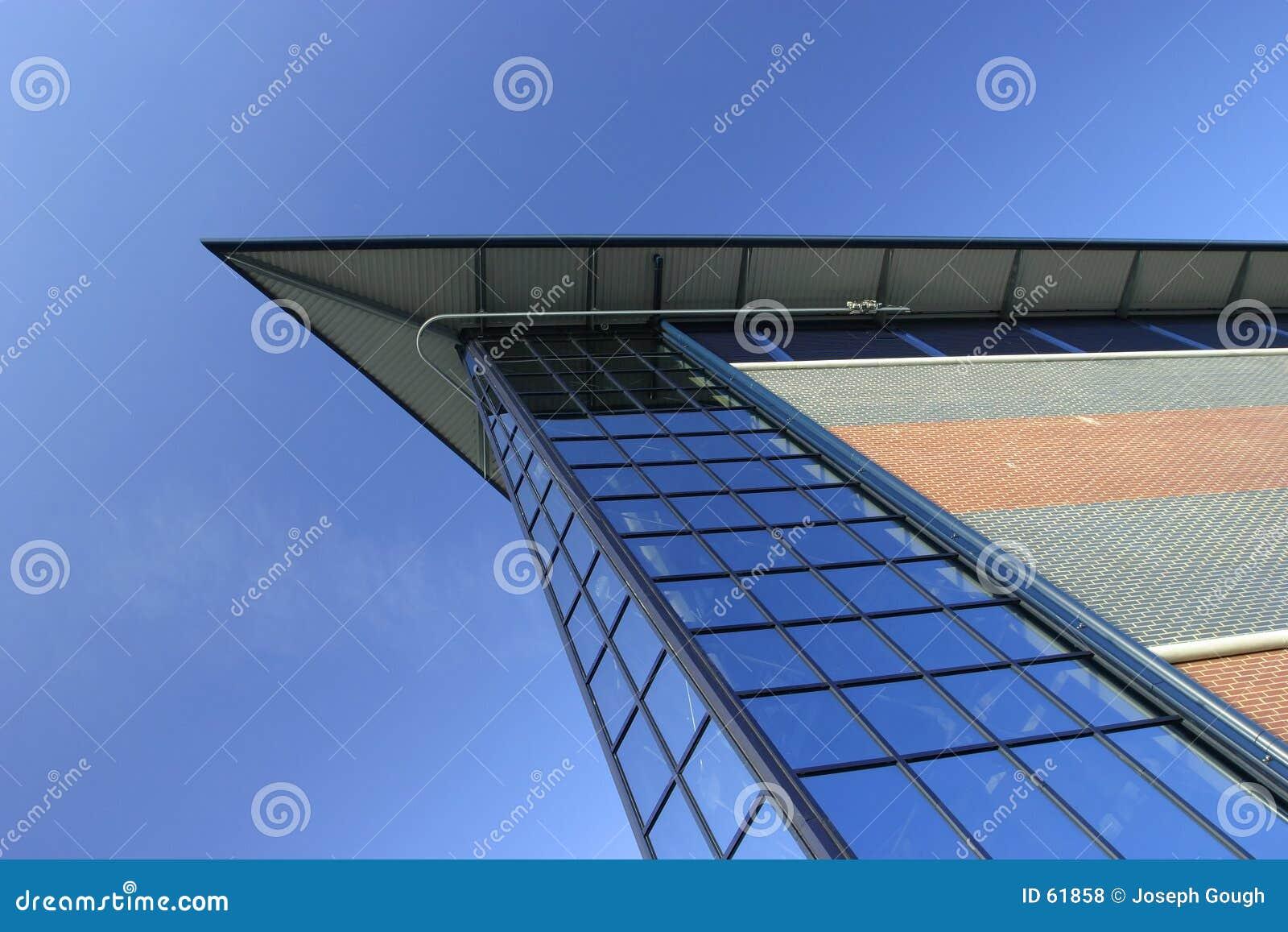 Download Architecture contemporaine photo stock. Image du bleu, contemporain - 61858
