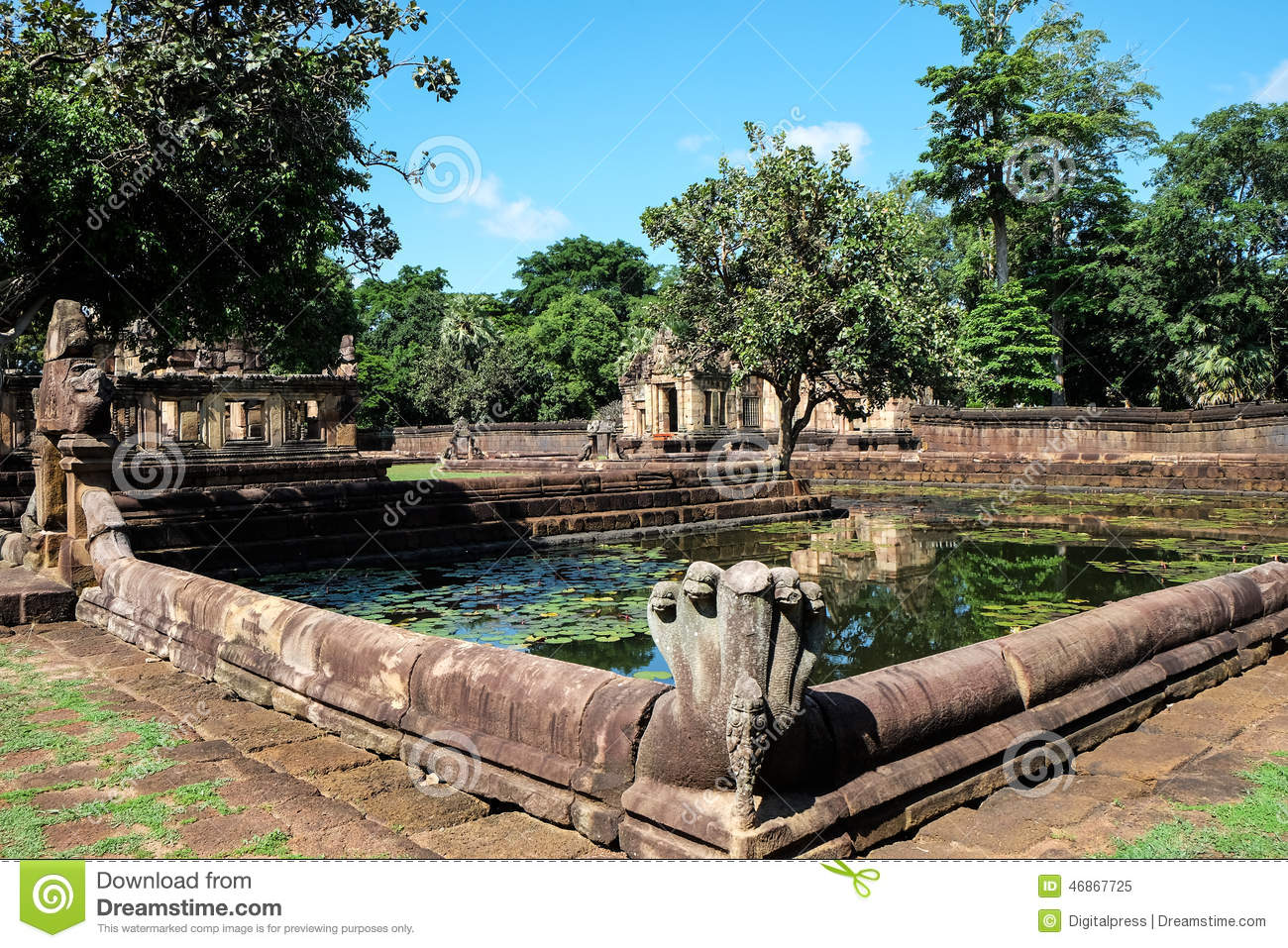 Architecture de khmer photo stock image 46867725 for Architecture khmer