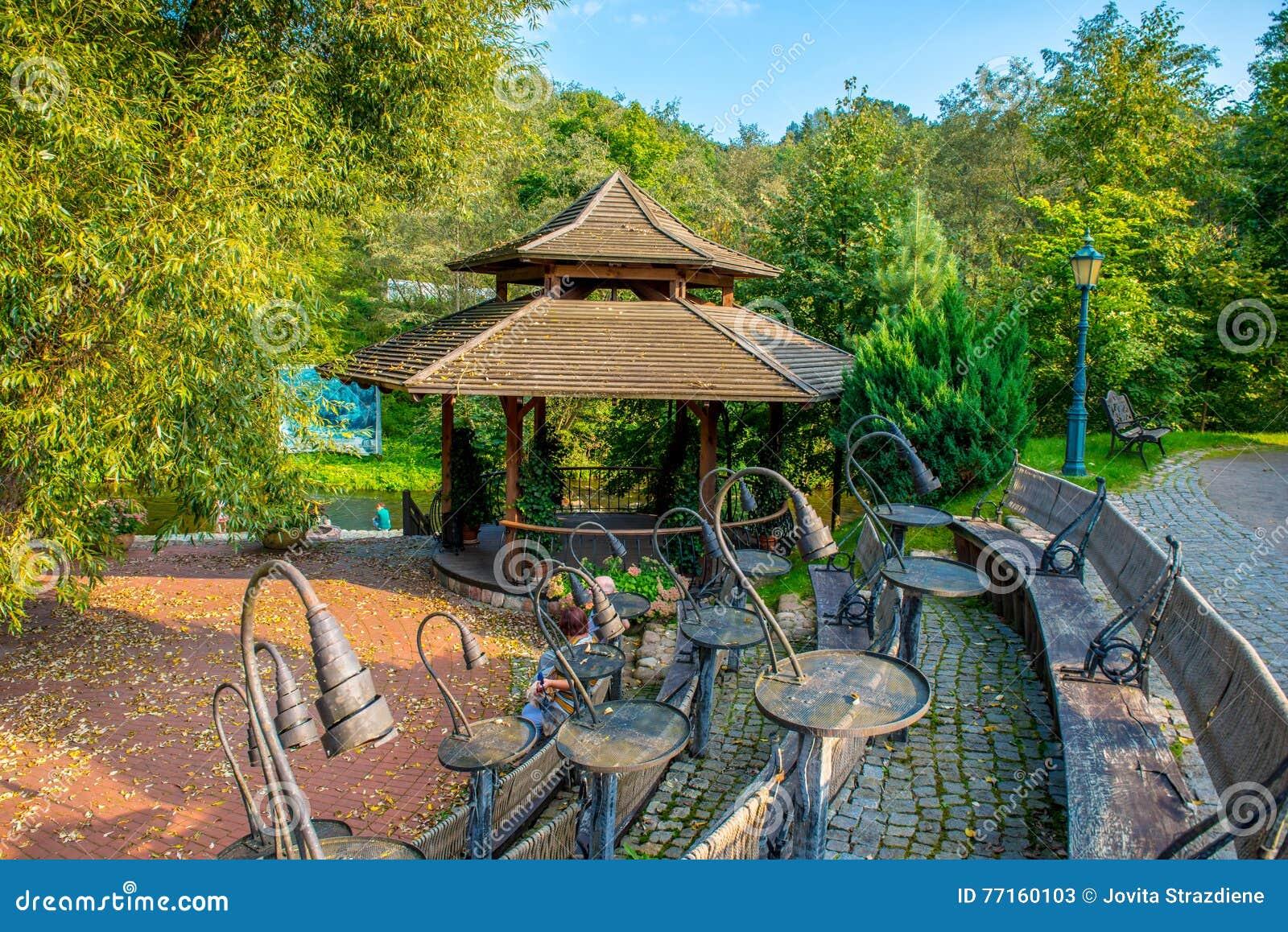 Architecture de parc de Belmontas vieille