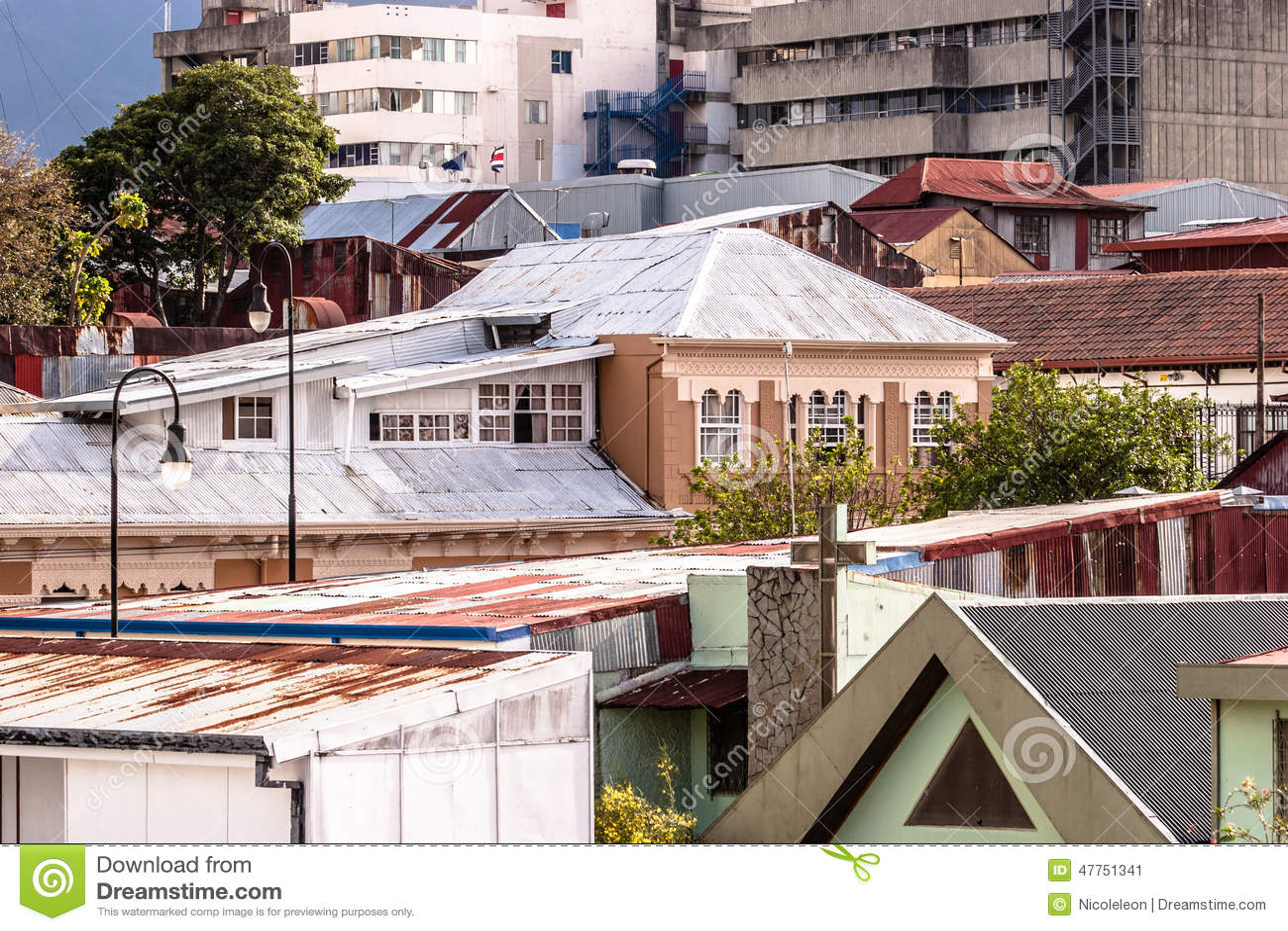 Architecture de San Jose, Costa Rica
