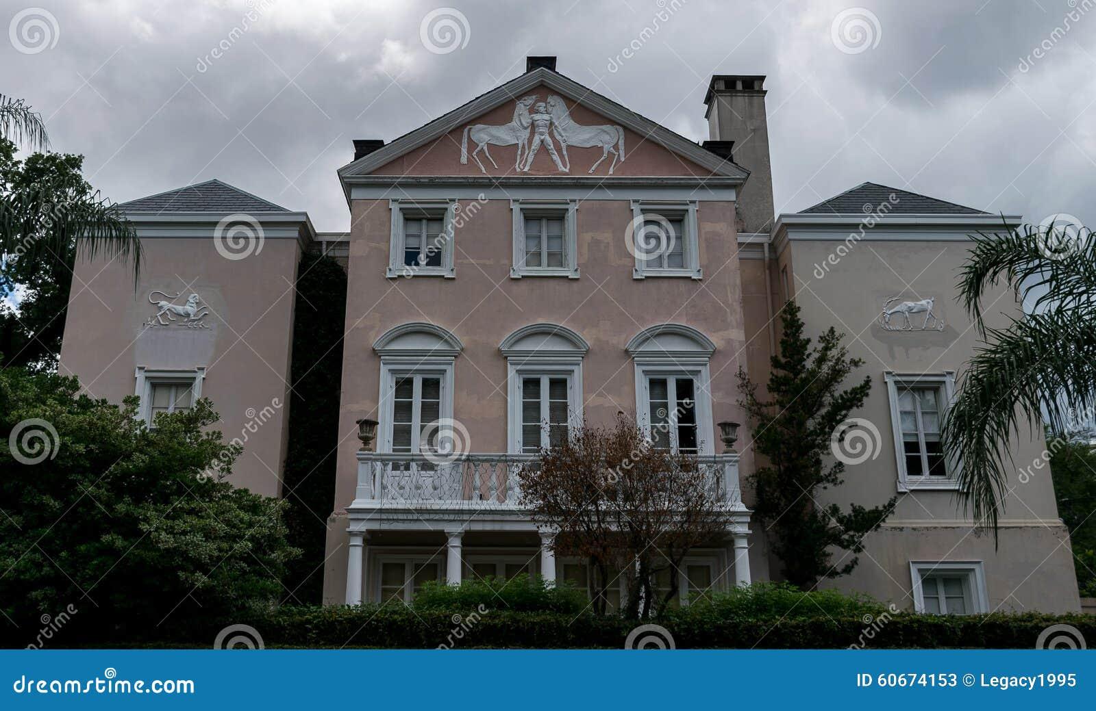 Architecture de secteur de jardin de la Nouvelle-Orléans