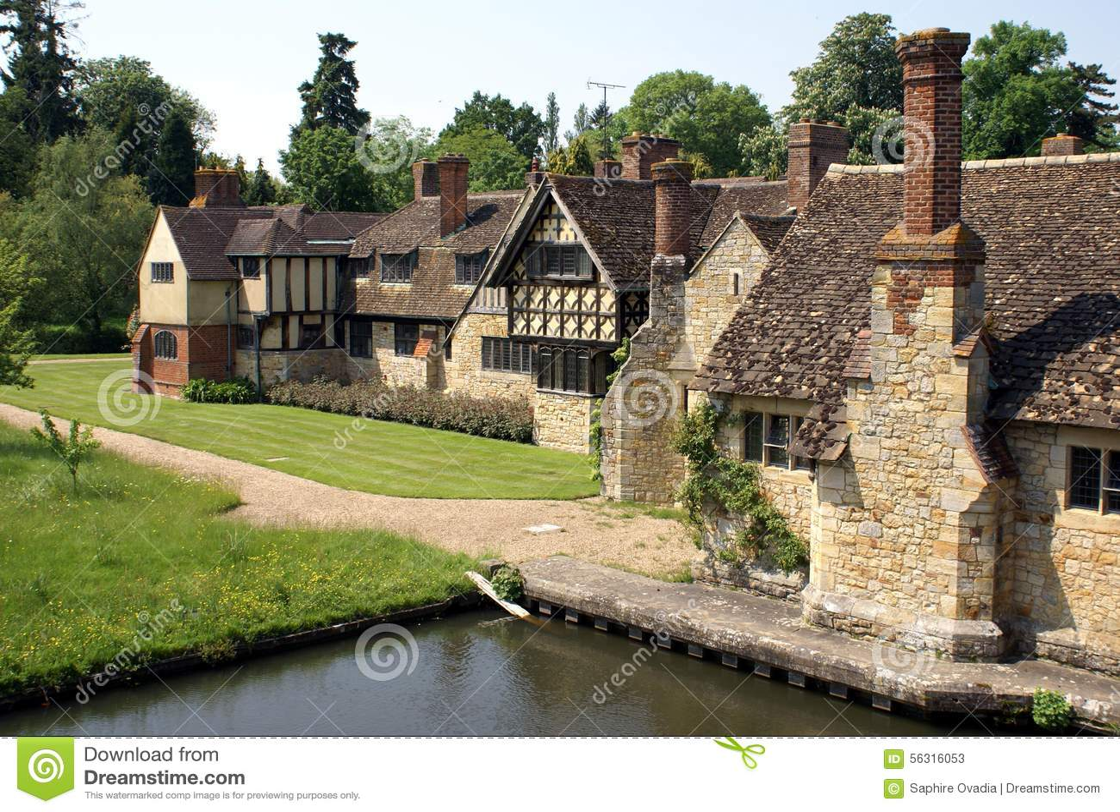 Architecture De Tudor Au Jardin De Ch Teau De Hever En