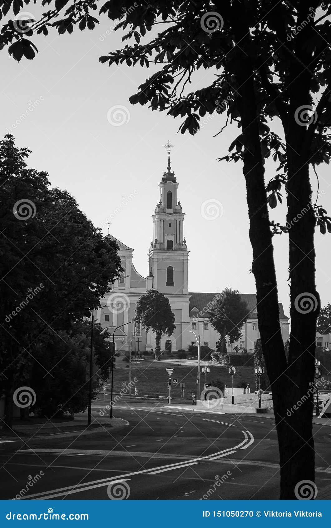 Architecture de ville, vieux bâtiments, vues