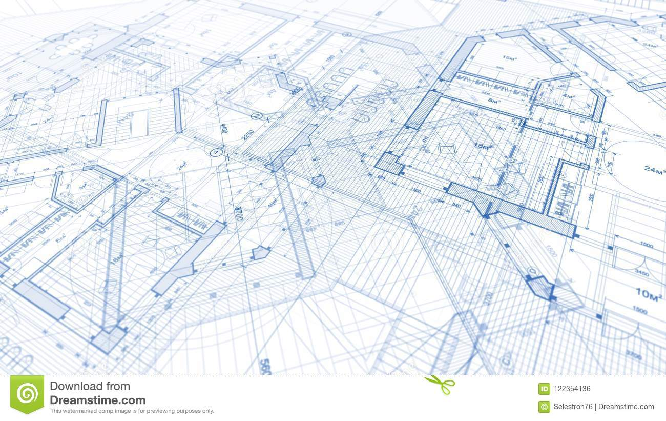 Architectural design blueprint Project Architecture Design Blueprint Plan Illustration Of Plan Mod Hdfootagestockcom Architecture Design Blueprint Plan Illustration Of Plan Mod