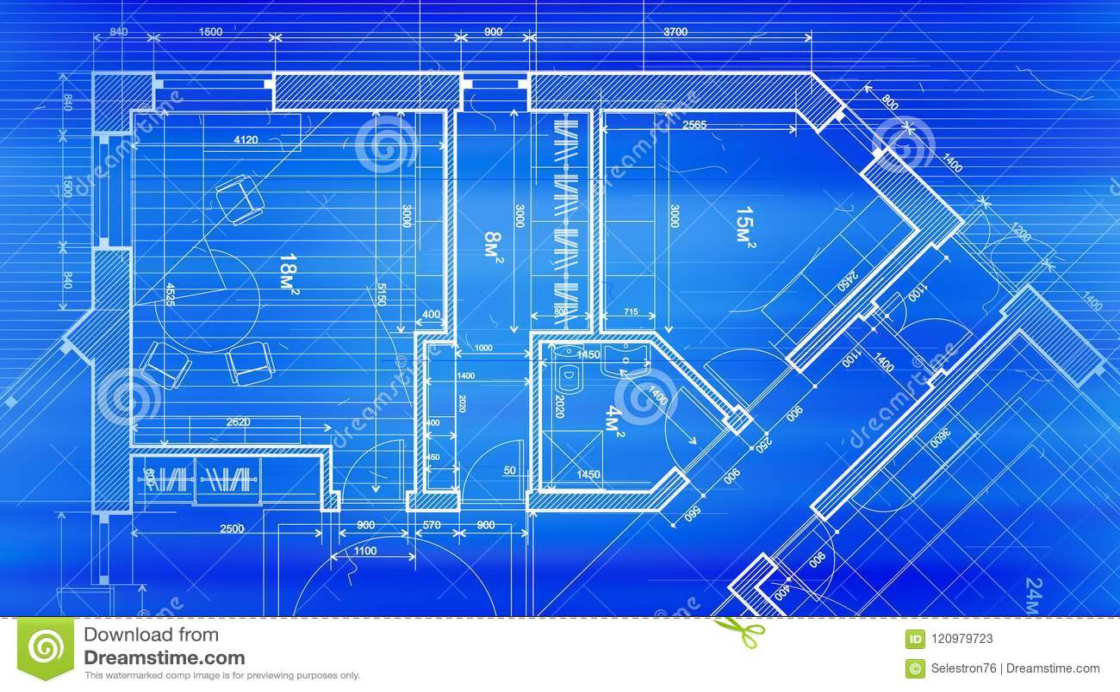 Architecture Design Blueprint In Architecture Design Blueprint Plan Vector Illustration Of Design Blueprint Plan Vector Illustration Of