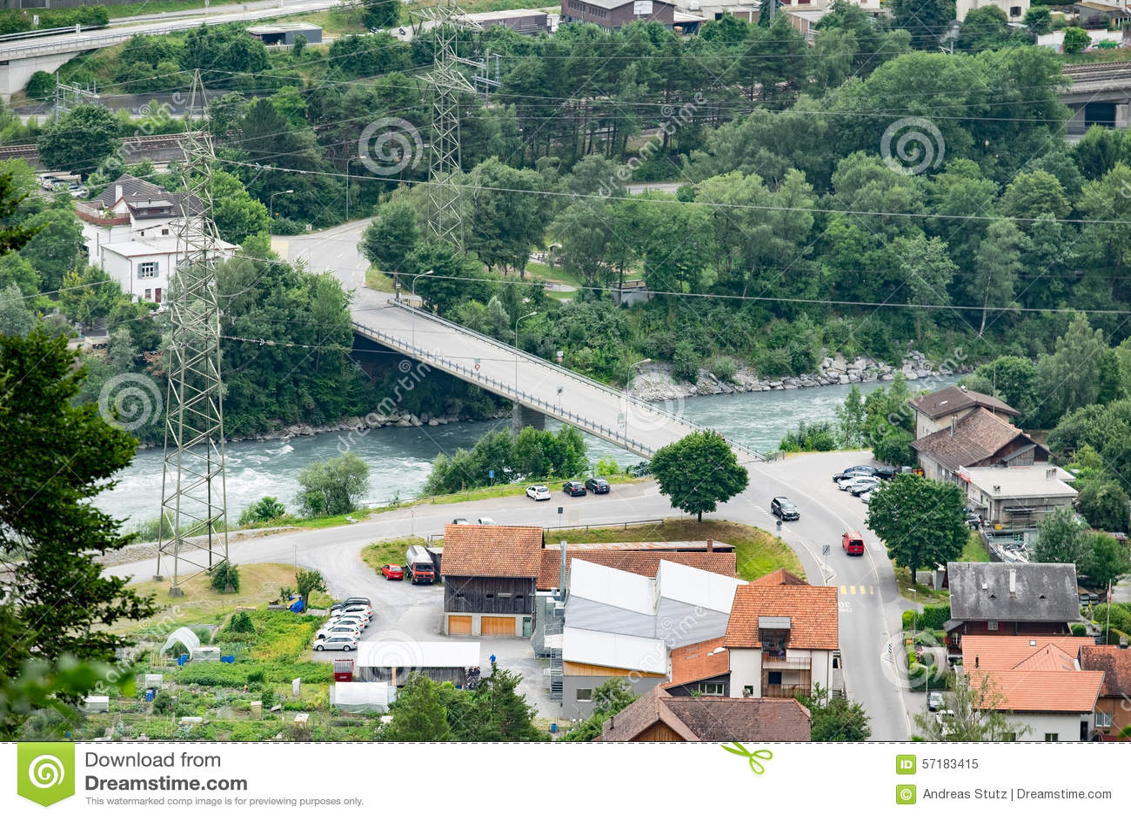 Architecture design stock photo image 57183415 for Architecture design for home in village