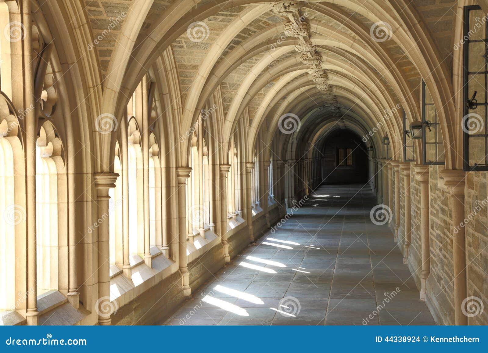 Bon Architecture Detail In Princeton University. Famous, Grad.