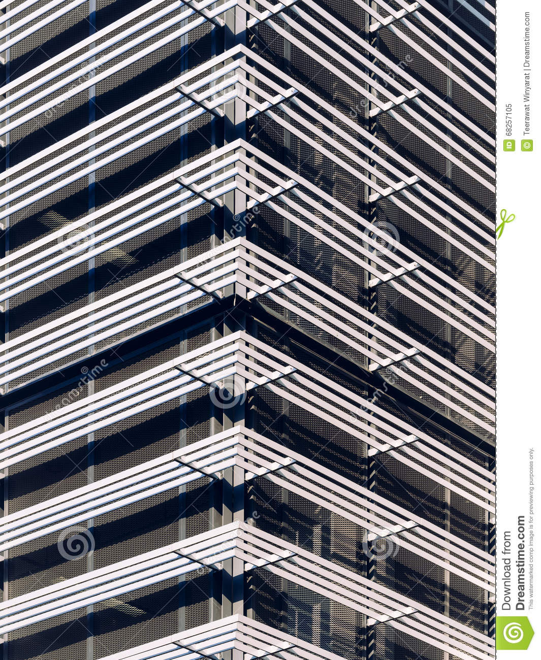Facade pattern architecture  Architecture Details Modern Facade Pattern Structure Stock Photo ...